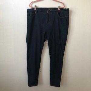 Forever 21+ Plus Dark Skinny Jeans 20